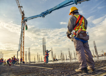 Construction antimicrobial application